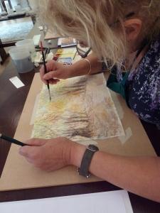 Autumnal Woodland Painting Workshop at Cartwheels Craft Centre