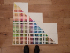 Jenny's amazing colour chart