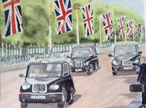 Cabs & Flags by Percy Kingdom