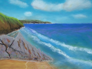 Pastel Seascape Workshop (1)
