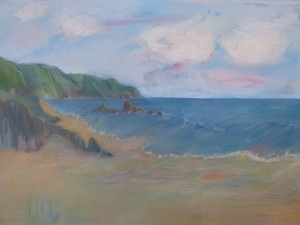 Pastel Seascape Workshop (13)