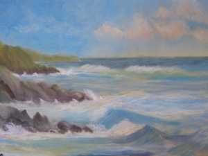 Pastel Seascape Workshop (14)