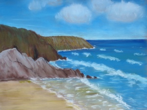 Pastel Seascape Workshop (2)