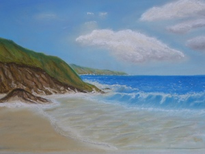 Pastel Seascape Workshop (9)