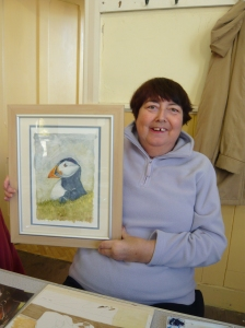 A Proud Puffin with Sue in 2008