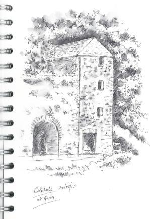 Cotehele Sketch