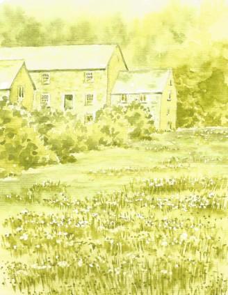 Tonal Painting Cotehele Mill